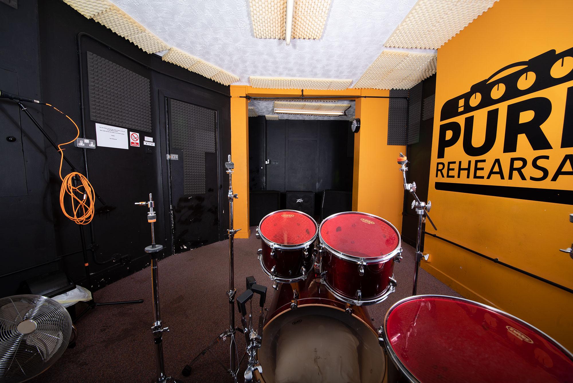 Pure Rehearsal Southampton Room 2