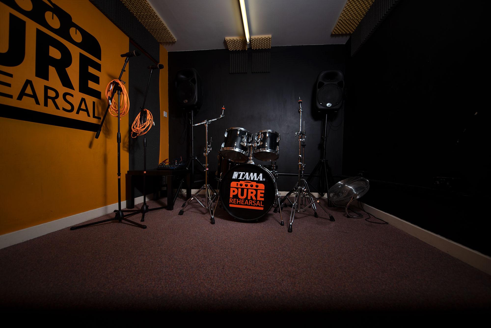 Pure Rehearsal Southampton Room 3